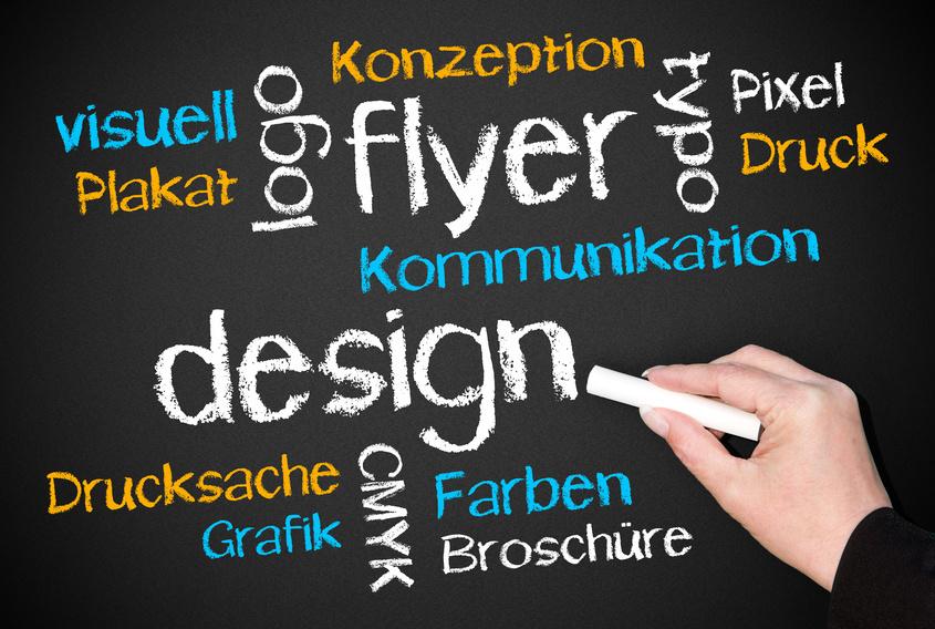 Logo, Flyer, Visitenkarten und vieles mehr