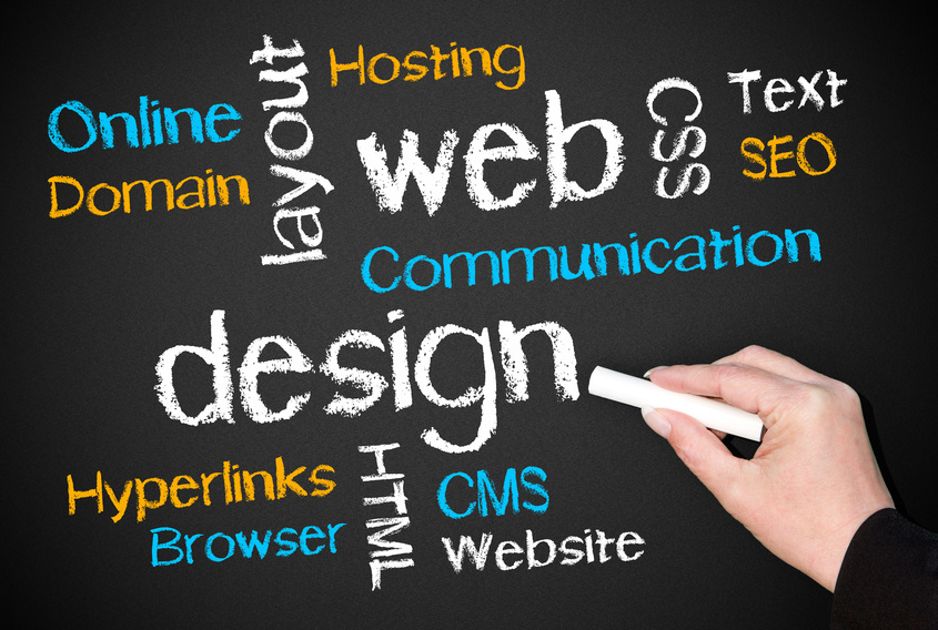 Webdesign Homepage Gestaltung