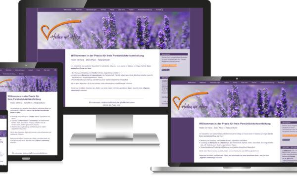 Heilpraktiker Webdesign