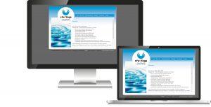 Yoga Trainer Webdesign