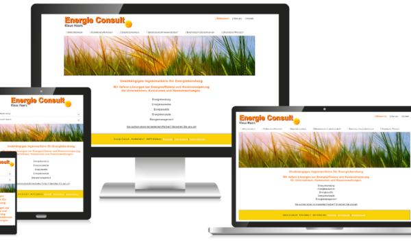 Energieberatung Unternehmen Website