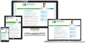 Re-Design skalierbare Webseite