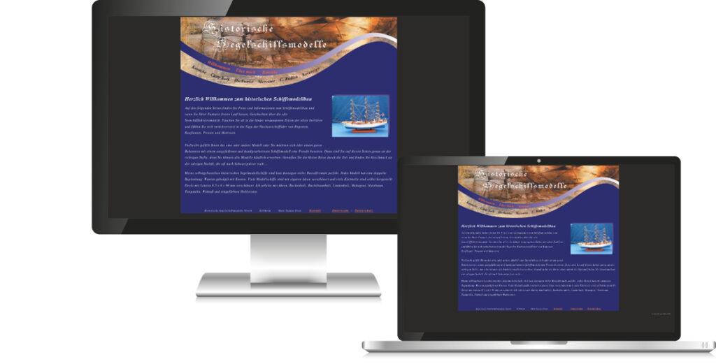 Historische Segelschiffsmodelle